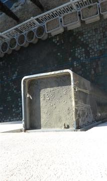 ⑦ 무수축몰탈 타설